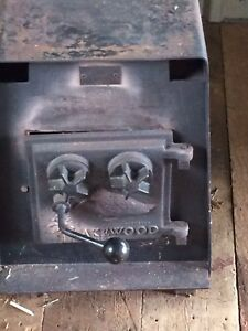 3 wood stoves and accessories