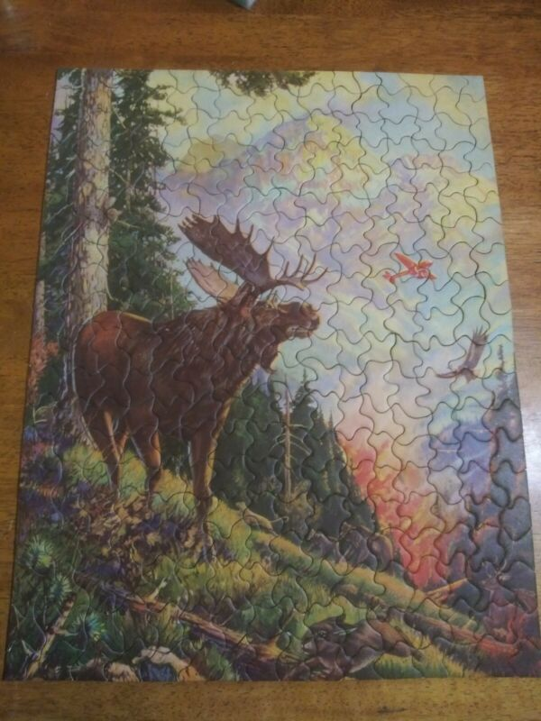 "Vintage TUCO Deluxe Picture Puzzle ""BY A CARELESS INTRUDER""  Complete No. 4905"