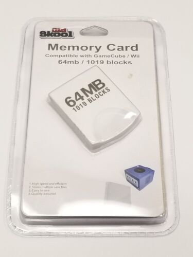 64 MB (1019 Blocks) Memory Card for GameCube and Wii - Old Skool