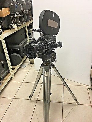 Arriflex 16BL 16mm Cine Camera, w/ 12-120 Angenieux Zoom, 400' Mag, Motor, Case