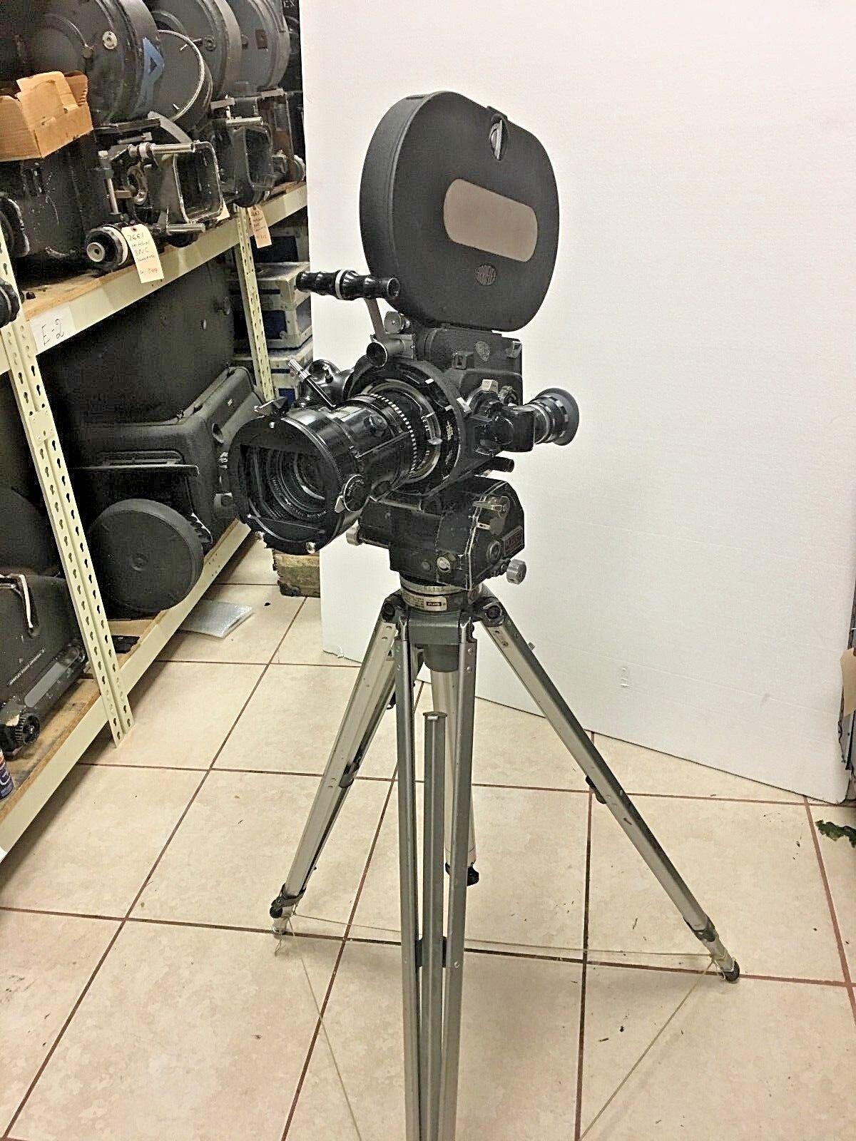 Arriflex 16BL 16mm Cine Camera, w/ 12-120 Angenieux Zoom, 400' Mag, Motor, Case