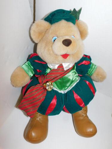 Christmas Bear Plush Kmart The Merry Gifts of Christmas 1993