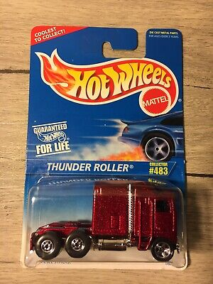 *MOC* Mattel Hot Wheels 1995 Thunder Roller Collector No. 483