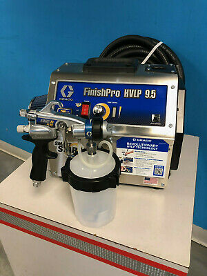 Graco Finishpro Hvlp 9.5 Procontractor Series Turbine Paint Sprayer 17n267
