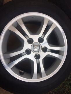 Honda Accord company alloys wheel