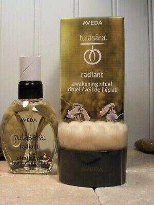 Aveda Tulasara Radiant Awakening Ritual Oleation Oil 1.7 oz & Dry Brush Set NIB