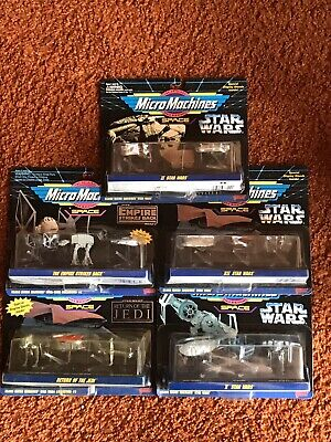 YOUR CHOICE OF ONE: Star Wars - Micro Machines - Galoob 1994 - READ DESCRIPTION