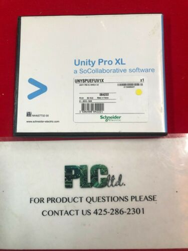 SCHNEIDER ELECTRIC MODICON UNYSPUEFUV1X UNY SPU EFU CD80 UNITY PRO XL