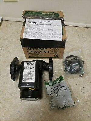Taco 007 Bf5-j Circulating Pump Cast Iron With Bronze Cartridge