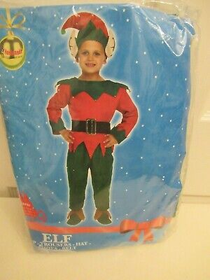 Children's Elf dress-up costume, fancy dress, Christmas, small (4-6 years) (Elf Dress Up)