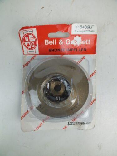 Bell and Gossett Bronze Impeller 118436LF Formerly PB2Z-835 NEW IN PACKAGE