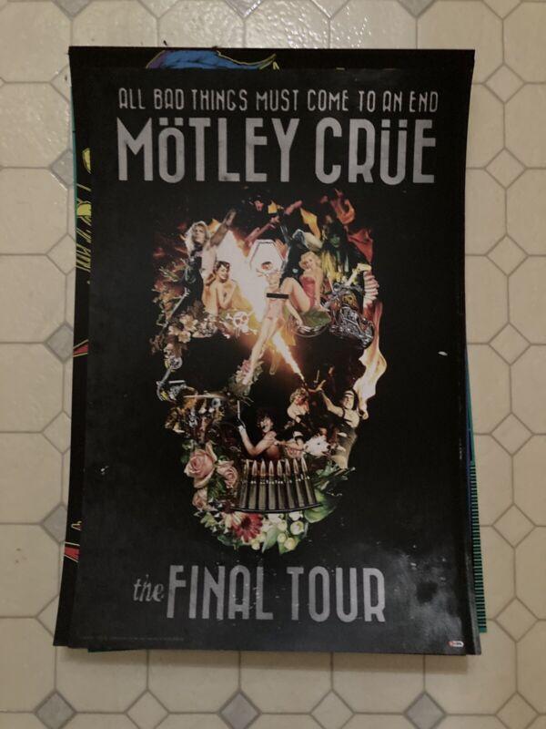 Motley Crue Final Tour concert poster