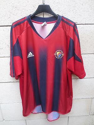VINTAGE Maillot DJURGARDENS IF away shirt 2005 ADIDAS Sweden jersey trikot L image