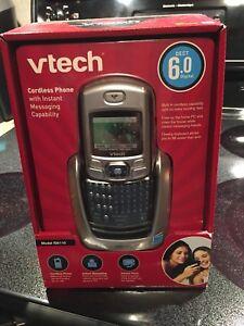 VTech cordless phone with messaging