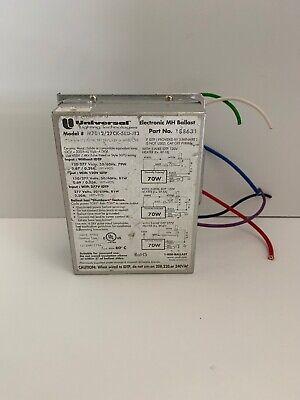 188631 Universal M701227ck-5eu-jt3 Electronic Metal Halide Ballast 70w 120277v