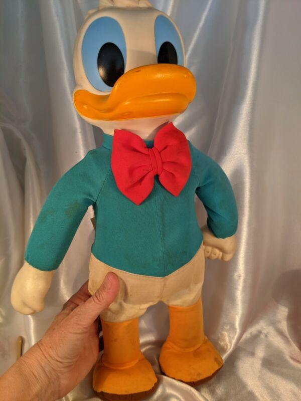 Vintage Walt Disney Dancing Donald Duck 70s Hasbro Romper Room Doll Collectible