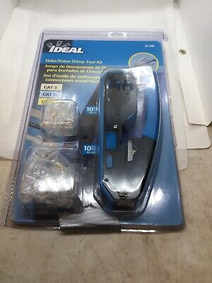 Ideal 33-396 Datavoice Modular Plug Crimp Tool Kit