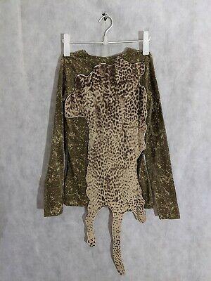 Bernhard Willhelm Archive Caveman Animal Pelt LS Shirt Size Small