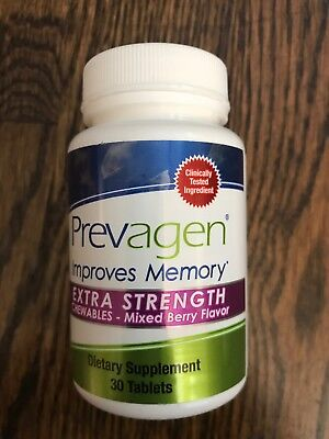 Prevagen Extra Strength Chewables Memory Improvement Tablets Mixed Berry 30 Ct
