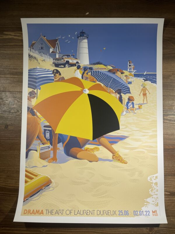 """Jaws """"Summer Of 75"""" Art Print Poster By Laurent Durieux Mondo Show Poster"""