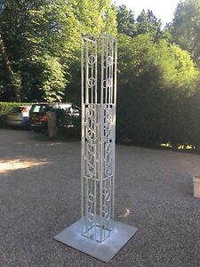 Metal Garden Sculpture Metalwork Metal Stand Steel Structure