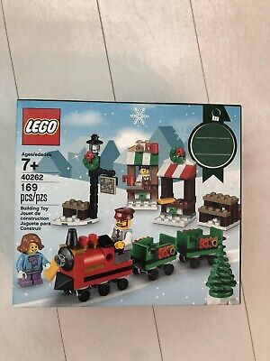 Lego 40262 Seasonal Lego Christmas Train Ride New Building Set