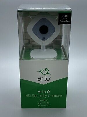 New Arlo Q Netgear 1080p HD Security Camera VMC3040 2 way Audio