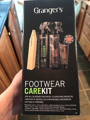 Grangers Footwear Care Kit Universal Footwear Cleaner FAST SHIPPING