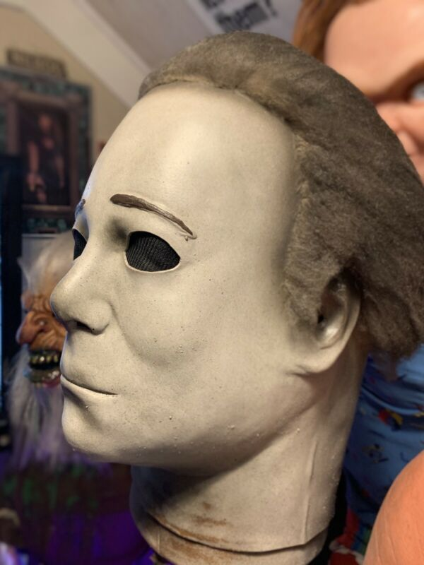 Michael Myers Mask Halloween 4 V4 Latex Mask No Horror Bust Halloween H4 V4 Mask