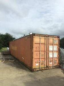 STEEL FRAMED 40ft SHIPPING CONTAINER