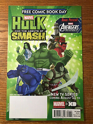 Avengers Assemble Hulk and the Agents of SMASH S.M.A.S.H. #1 Marvel 2013 NM
