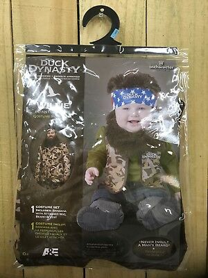 INFANT TODDLERS DUCK DYNASTY BABY WILLIE COSTUME 0+ 6-12 Months