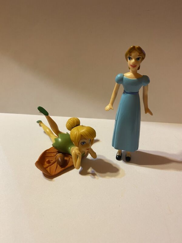 Disney  Peter Pan Wendy And Tinker Bell  figure cake topper