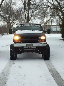 97 Chevy 1500 with tbi 350