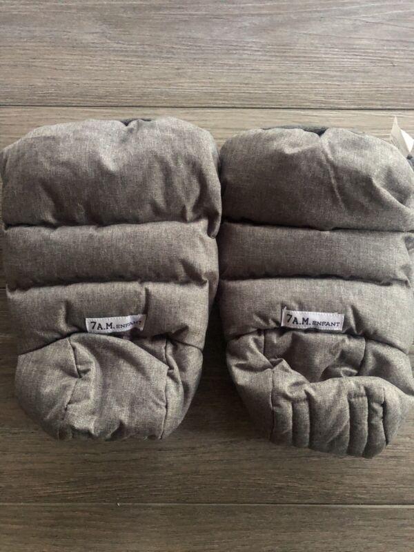 7am Enfant Warmmuffs Stroller Gloves w/Universal Fit Gray HM212 New SHIPS FREE