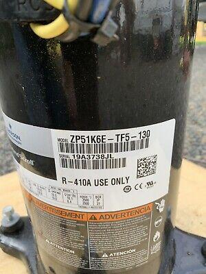 Copeland Scroll Compressor Zp51k6e-tf5-130 208230v 3ph 51000 Btu R410a