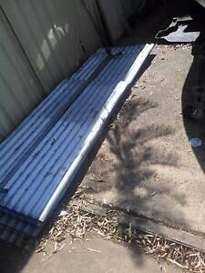 Used corrugated zincalum roofing iron Glossodia Hawkesbury Area Preview