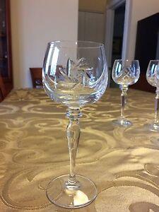 Verre à vin Crystal Pinwheel