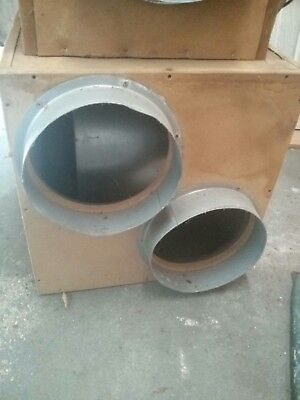 Hydroponic 2500m3/hr Acoustic MDF Box Extractor Fans