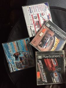 Play station 2 w/games