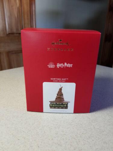 2021 Hallmark Harry Potter Sorting Hat Magic Sound & Motion Ornament - NIB
