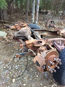 Dana 60 front Dana 70 rear 600$ for set