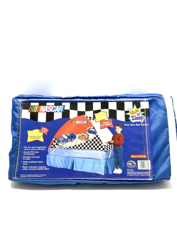 Kids NASCAR Twin Size BED DOME/TENT Hide