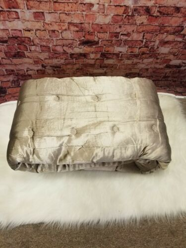 HUDSON PARK COLLECTION LUXE QUILTED FULL QUEEN COVERLET PIAZ