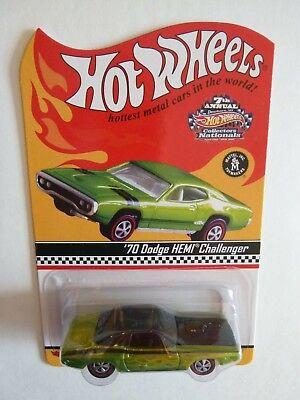 Hot Wheels, '70 Dodge HEMI Challenger,  7th Collectors Convention, 1:64, Diecast for sale  Littleton