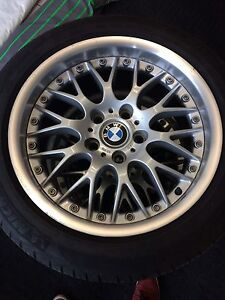 235/45/R17 BMW rims and tires