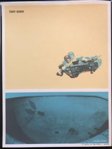 Tony Hawk edition of 50 Silkscreen Print Grant Brittain Skateboard Skate Poster