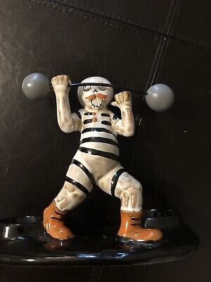 Yankee Candle Boney Bunch Multi Boney Strongman Halloween Candle Holder 2019 NEW