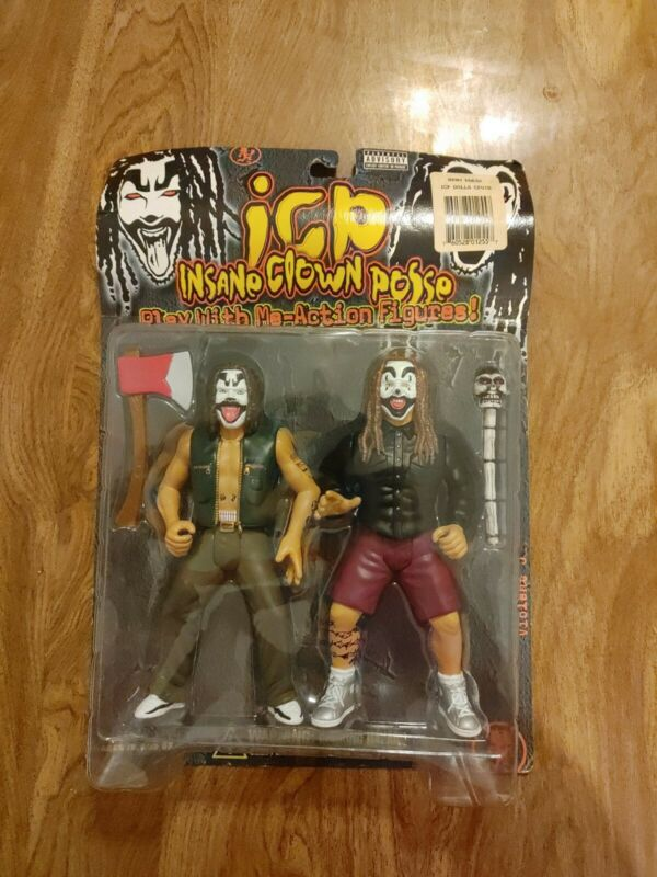 Rare 1998 ICP Insane Clown Posse Play With Me - Action Figures LMAO Dolls
