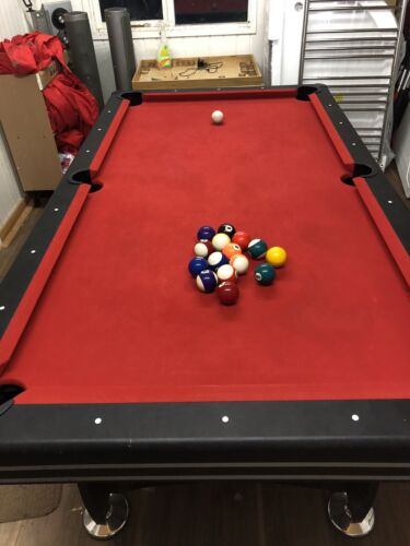 Pool Or Snooker table 7ft With Push Puck/table Tennis Insert Game